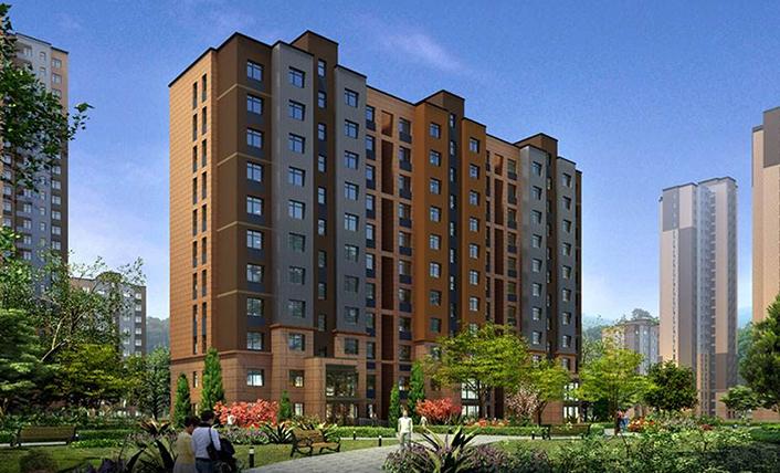中房集团西宁房地产开发有限公司超声波热量表案例